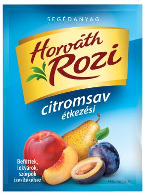 Citromsav étkezési